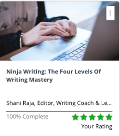 Nina writing